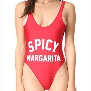 Private Party Red Spicy Margarita One Piece M/L
